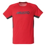 Musto T Shirt Evolution Uv Fast Try Größe Xl Farbe Rot Carbon