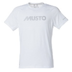Musto T Shirt Evolution Uv Fast Try Größe Xl Farbe Weiss