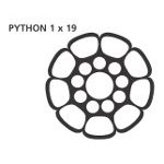 Python Drahtseil Compacted 1.4401 1 X 19 5mm